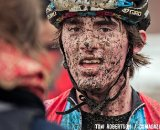 McDonald seems to enjoy the Belgian mud. © Tom Robertson