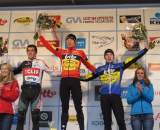 Eckmann on the podium in Baal. ? Nathan Phillips
