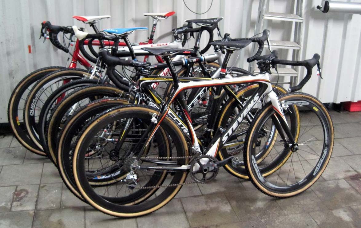 The camp member\'s bikes. 100 points to the reader that names each bike\'s owner! ? Nathan Phillips