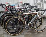 The camp member's bikes. 100 points to the reader that names each bike's owner! ? Nathan Phillips