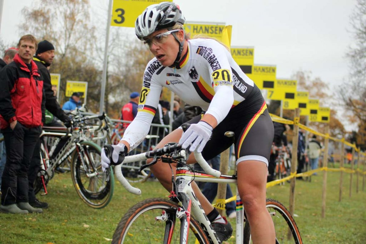 Hanka Kupfernagel would finish fourth. © Bart Hazen