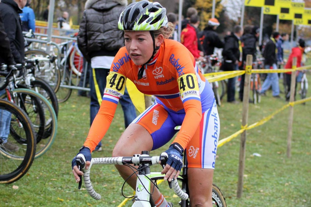 Sophie DeBoer was the third Dutch rider in the top 10. © Bart Hazen