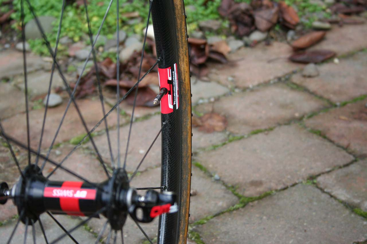 DT Aerolite spokes with Prolock brass nipples for a light, durable build ? Josh Liberles