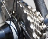 Will 11 speed be the new standard? SRAM Red 11 on the Felt 2014 F2x carbon cyclocross bike. © Cyclocross Magazine