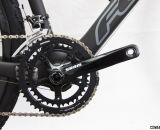 SRAM S350 10-speed cranks on the Felt 2014 F5x carbon cyclocross bike. © Cyclocross Magazine