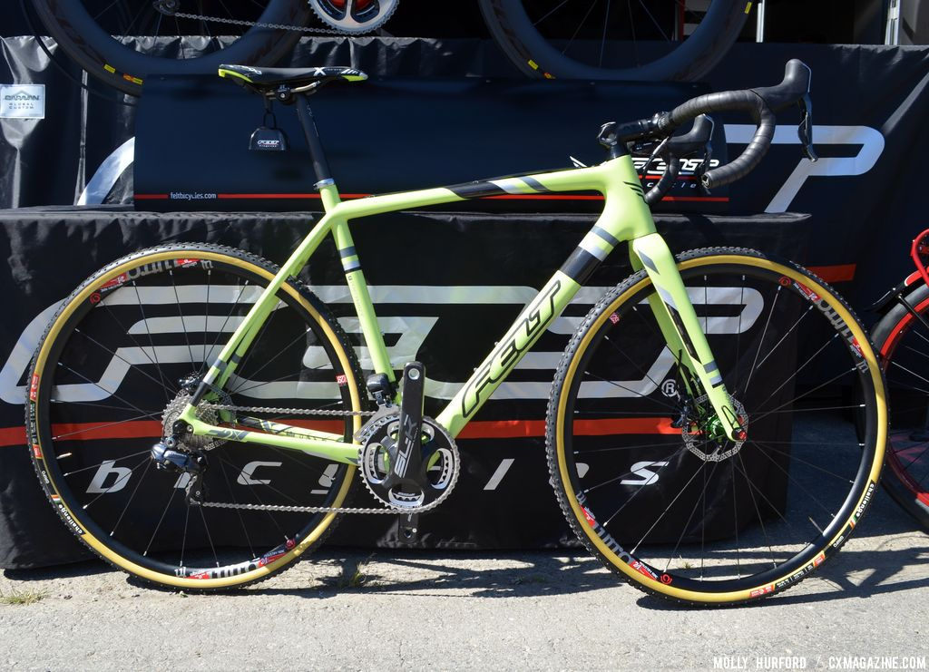 Felt F2x at Sea Otter 2014. © Cyclocross Magazine