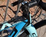 The color scheme rejuvenates the Focus CX 3.0 Mares at Interbike 2013. © Cyclocross Magazine