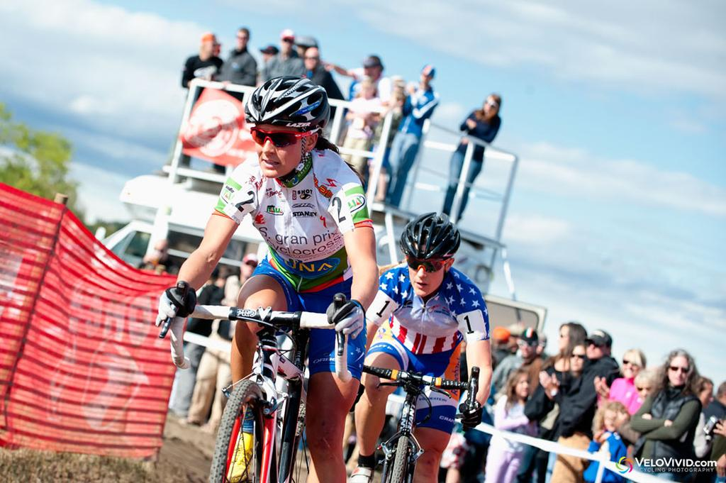 Katerina Nash (Luna Pro Team) remains the series leader. © VeloVivid Cycling Photography