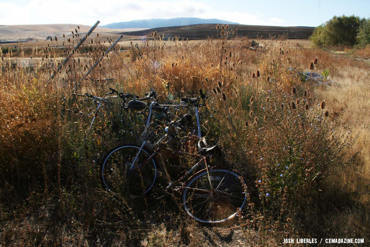 Bikes have been part of this landscape a long time! ©Cyclocross Magazine