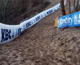 Loose sand might make for a slippery course. © Christine Vardaros