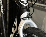 2011 Ridley X-Night's only significant change is the addition of angular contact bearings for the headset in place of radial contact bearings. © Cyclocross Magazine
