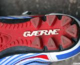 The agressive heel of the Gaerne G. Keira mtb and cyclocross shoe. © Cyclocross Magazine