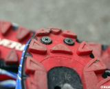 Toe spikes are options with the Gaerne G. Keira mtb and cyclocross shoe. © Cyclocross Magazine