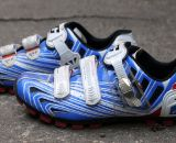 Italian craftsmanship and flashy colors of the Gaerne G. Keira mtb and cyclocross shoe. © Cyclocross Magazine