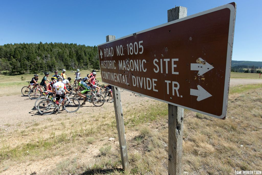 The afternoon long rides take place up and around the Continental Divide quite often. © Tom Robertson