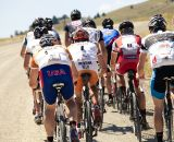 Group rides on dusty roads