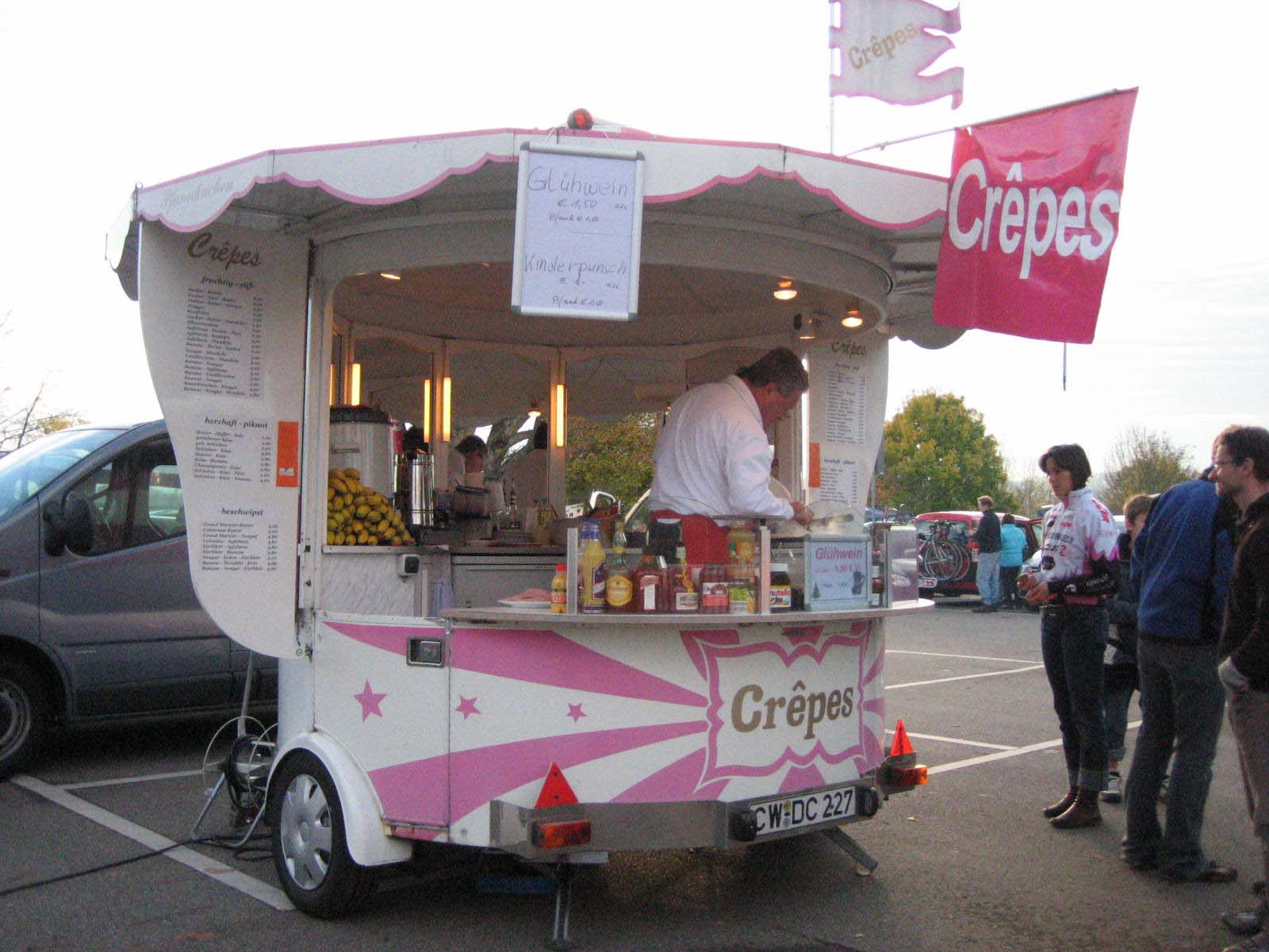 crepe stand in magstadt