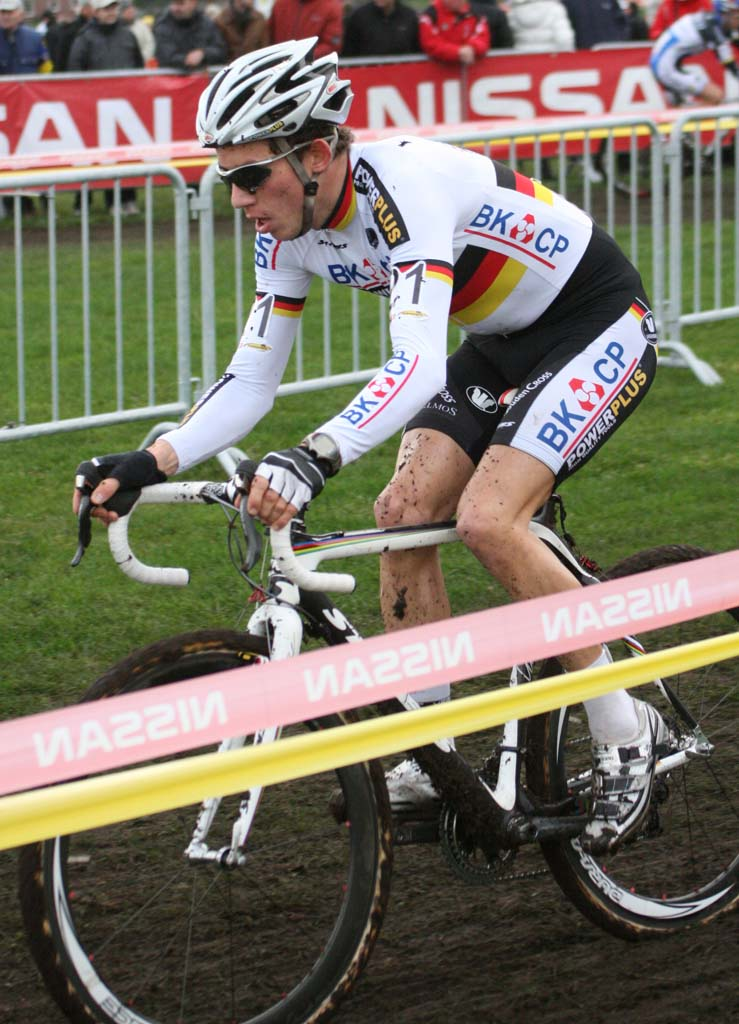 Phillip Walsleben shows off his German champion\'s colors. ? Bart Hazen