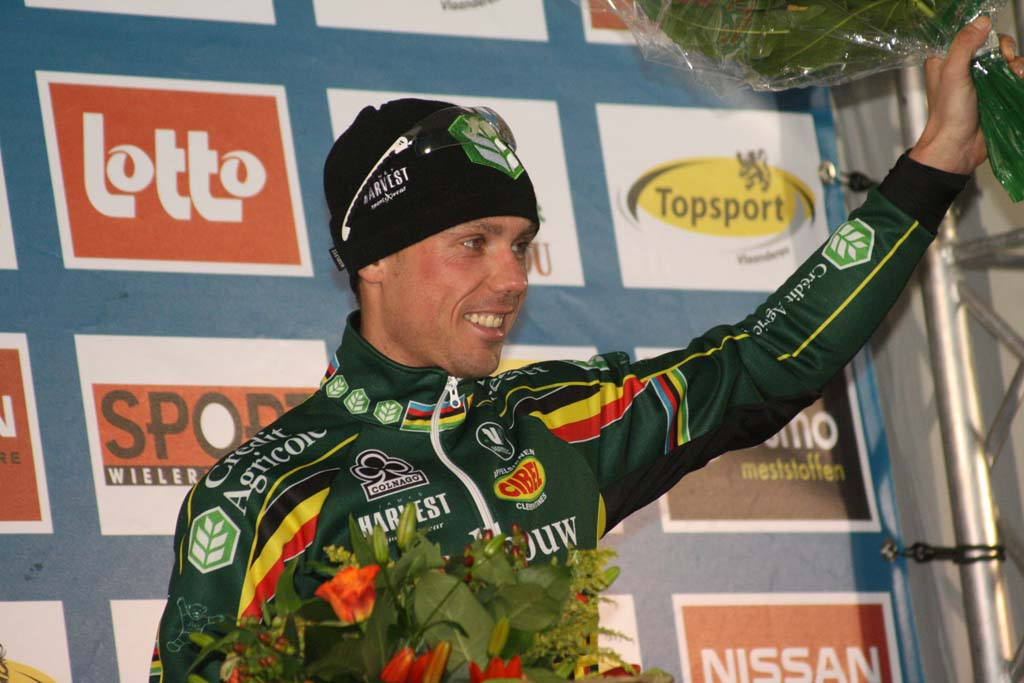 Nys takes his 50th Superprestige Win. ? Bart Hazen