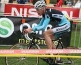 Mike Teunissen took the hole shot but lost the sprint. ? Bart Hazen