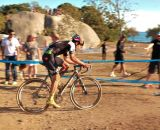 Tim Johnson (Cannondale/Cyclocrossworld.com) goes on the attack with three laps to go. © Kevin White
