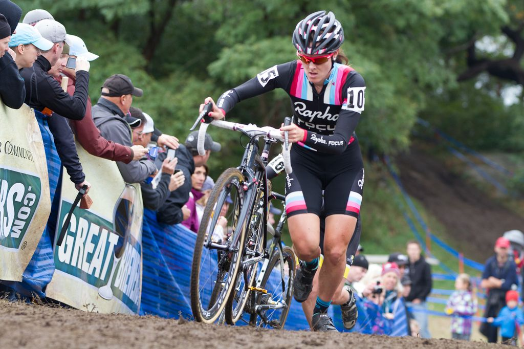 Gabby Day gave a hard chase for second © Todd Prekaski