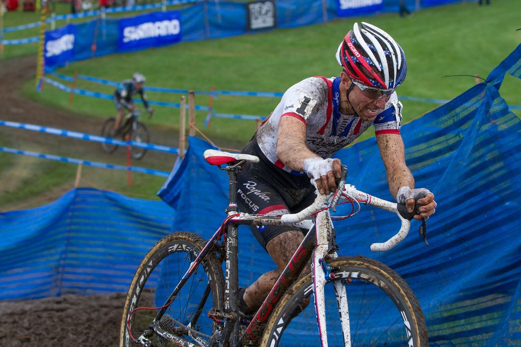 Powers rode in for second © Todd Prekaski