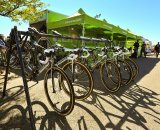 Cannondale steeds ready for battle © Sasha Eysymontt