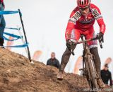 James Coats in the men's 50-54 race at 2014 USA Cyclocross National Championships. © Mike Albright