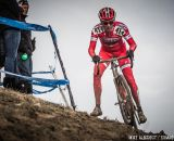 Robert Meighan in the men's 50-54 race at 2014 USA Cyclocross National Championships. © Mike Albright