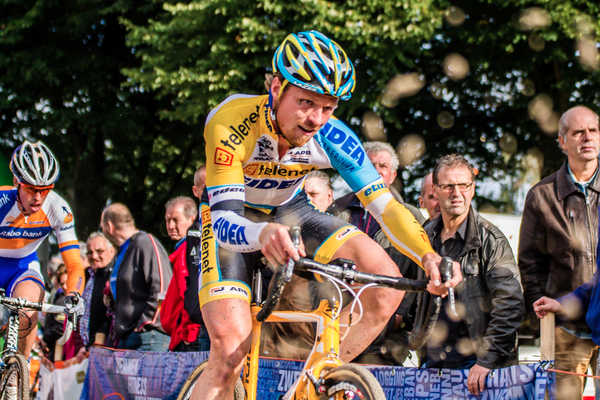 Den Bosch,  The Netherlands - Cyclo-cross Grote Prijs van Brabant - 12th October 2013 - Thijs AL on the sandpit