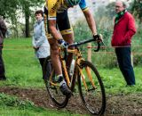 Den Bosch,  The Netherlands - Cyclo-cross Grote Prijs van Brabant - 12th October 2013 - Tom MEEUSEN