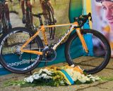 Den Bosch, Netherlands - GP van Brabant - 12th October 2013 - Amy Dombroski Memorial Tent and bike