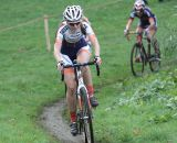 Smiling while riding at the Cyclo-cross Grote Prijs van Brabant. © Bart Hazen