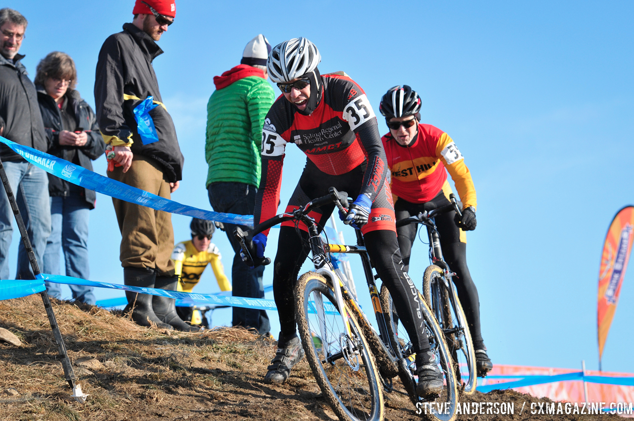 John Wentling in the Men\'s 60-64, 65-69, 70+ Nationals races in Boulder, Colorado. © Steve Anderson