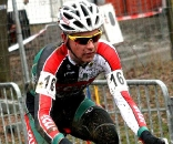 Eckmann riding in second.  GP Sven Nys 2009, Baal, GVA Trofee cyclocross series. © Bart Hazen