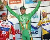 iThe Men's Podium: Wellens, Nys and Pauwels at Baal 2012 © Bart Hazen