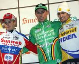 The Men's Podium: Wellens, Nys and Pauwels at Baal 2012 © Bart Hazen