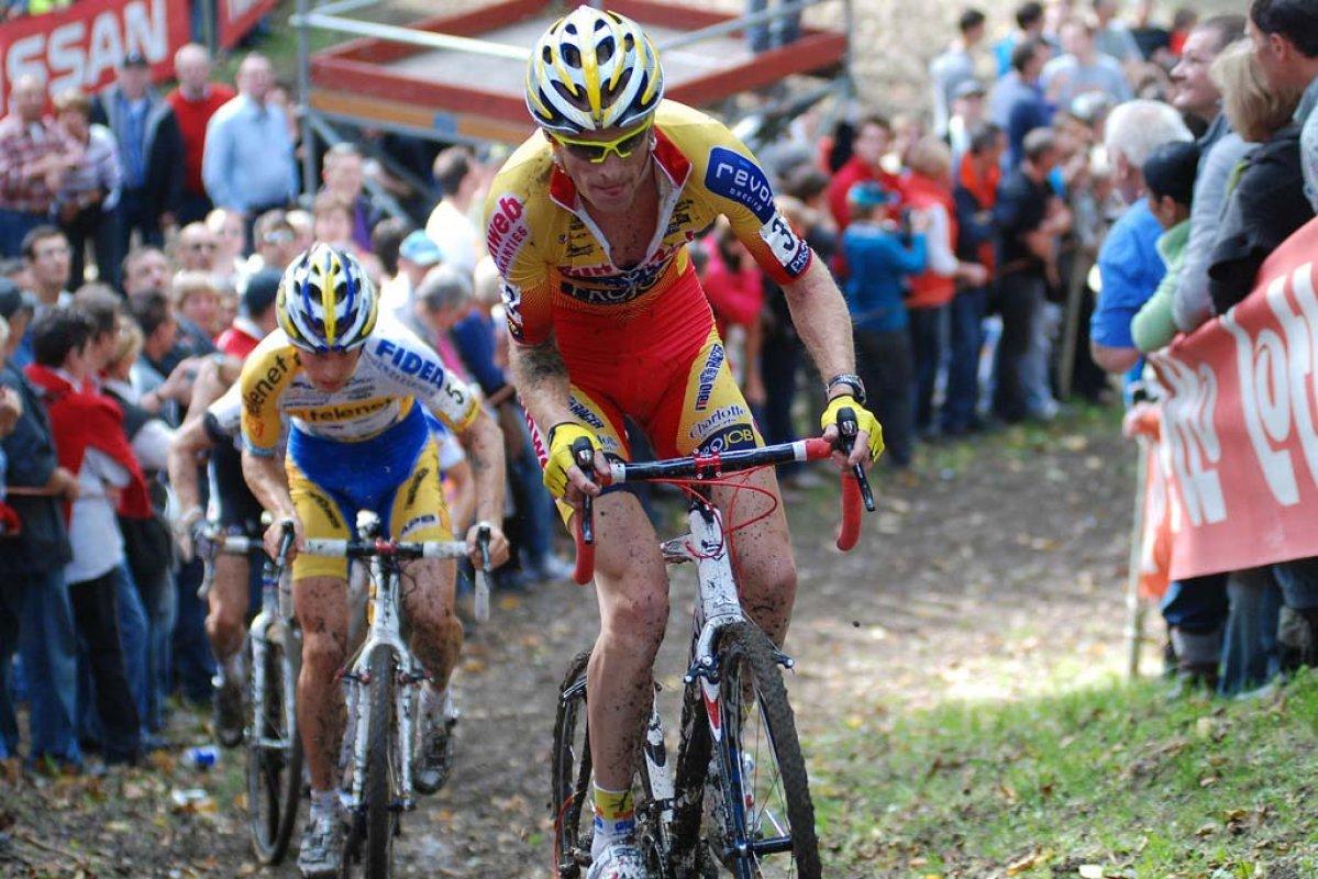 Klaas Vantornout finished second in the GVA season opener. © Bart Hazen