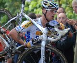 Stybar is already doing the jersey proud. © Bart Hazen