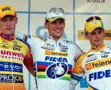 Vantornout (l), Stybar and Pauwels on the podium. © Bart Hazen