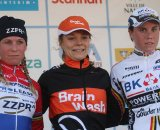 Van Den Brand (l), Van Paassen and Cant on the podium. © Bart Hazen
