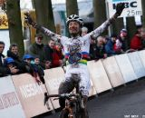Marianne Vos takes the win in Essen © Bart Hazen