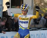 Pauwels bested Stybar ad Nys to take his first win of the season. © Bart Hazen