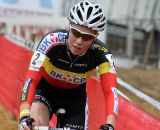 Belgian champ Sanne Cant looking strong, as always ©Bart Hazen