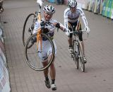 Vos had to finish up on foot ©Bart Hazen