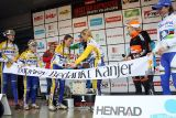 Daphny thanks for all says the banner (Van den Brand says goodbye to the sport) © Bart Hazen