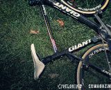 Compton's bike at the Harbin Park Cyclocross Clinic © VeloVivid