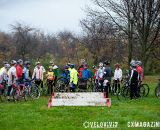 The crowd at the Harbin Park Cyclocross Clinic © VeloVivid
