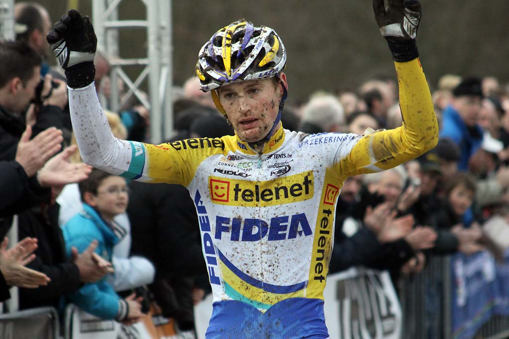 Pauwels takes the victory. © Bart Hazen